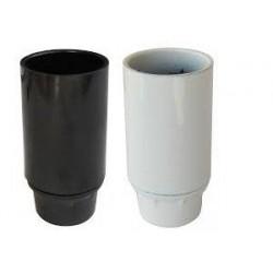 DOUILLE E14 PLAST NOIR  LISSE       140300
