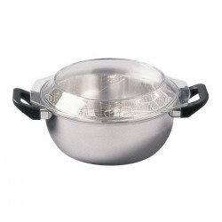 FRITEUSE INOX 26 COUVERCLE VERRE    552010