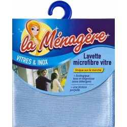 LAVETTE MICROFIBRES VITRES 30X31    680232