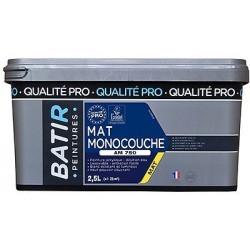 PEINTURE MAT MONOCOUCHE AM750 2,5 L
