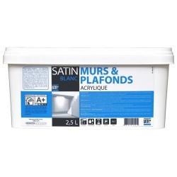 MURS & PLAFONDS SATIN 2,5 L BATIR 1ER NOUVEAU