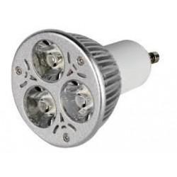 AMP POWER LED GU10  3W 4200K    PLD01