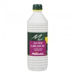 ALCOOL A BRULER 90° 1 L
