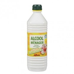 ALCOOL MENAGER POMMES/AGRUMES 1 L