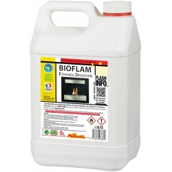 BIOFLAM ALCOOL ETHYLIQUE 5 L