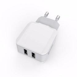 PRISE CHARGEUR RAPIDE 2 USB 3.4A NOUVEAU
