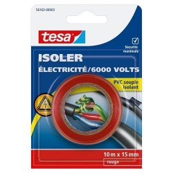 TESA ISOLER ELECTRIC 10X15 ROUGE-56163