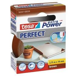 TESA TOILE REPARER 2,75X19 BRUN-56341