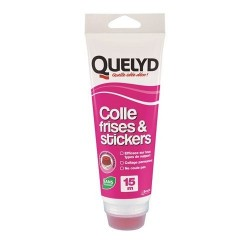 QUELYD COLLE DECO FRISES/STICKERS 250G