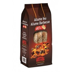ALLUME FEU & BARBECUE 40 PIECES