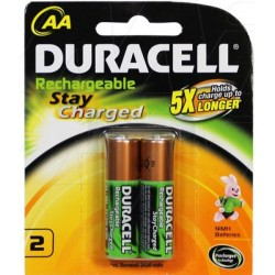 PILE RECHARG.HR06 AA CHARGEE  *2 DURACELL