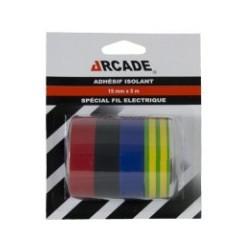 ADHESIF PVC ELECTRICIEN 6X3M SUR CARTE