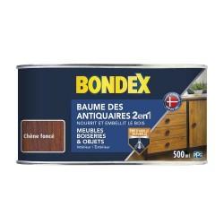 BONDEX BAUME ANTIQ PATE CHENE FONCE 0,5 L GSA