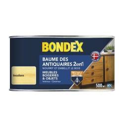 BONDEX BAUME ANTIQ PATE INCOLORE 0,5 L GSA