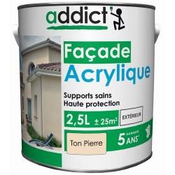 ACRYLIQUE FACADE 2,5 L TON PIERRE ADDICT