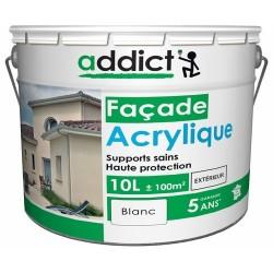 ACRYLIQUE FACADE 10 L BLANC ADDICT
