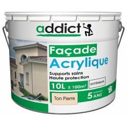 ACRYLIQUE FACADE 10 L TON PIERRE ADDICT