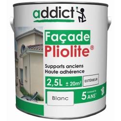 PLIOLITE 100% FACADE 2,5 L BLANC ADDICT
