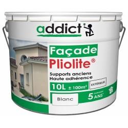 PLIOLITE 100% FACADE 10 L BLANC ADDICT