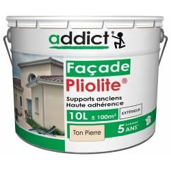 PLIOLITE 100% FACADE 10 L TON PIERRE ADDICT