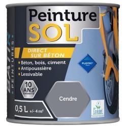PEINTURE SOL SATINEE 0,5 L CENDRES AQUAREL