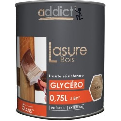 LASURE DECOR BOIS ORANGE 0,75 L CHENE