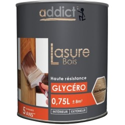LASURE DECOR BOIS ORANGE 0,75 L CHENE RUSTIQUE