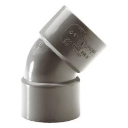 COUDE FF PVC 45° DE 40              245400