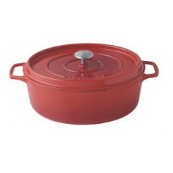 COCOTTE OVALE 35 RUBIS INV