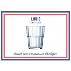 LE VERRE FRANCAIS LOUIS 25 CL PAR 6 NOUVEAU