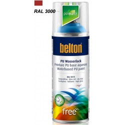 BELTON FREE ROUGE FEU BRILL 400ML NOUVEAU