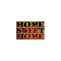 TAPIS COCO 35X60 HOME SWEET HOME EP 15MM