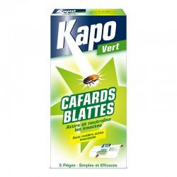 KAPO PIEGES A CAFARDS  ETUI DE 5 F/NL
