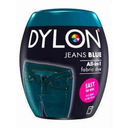 DYLON TEINTURE BLEU JEANS GRAND TEINT POD 350G MACHINE 40°