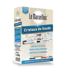 CRISTAUX DE SOUDE 1K25