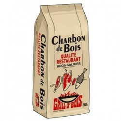 CHARBON GRILL O BOIS REF 571 50L