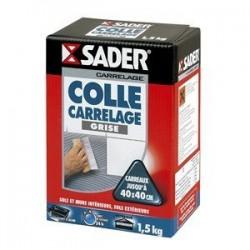 COLLE CARRELAGE GRISE 30121952 BTE 1,5KG SADER