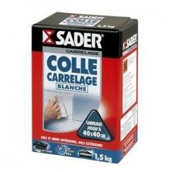 COLLE CARRELAGE BLC 30121932 BTE 1,5KG SADER