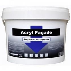 ACRYL FACADE 10 L BLANC FLECHE BLEUE