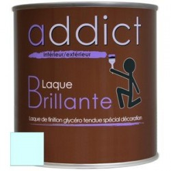 LAQUE BRILLANTE 0,5 L BLEU LAGON ADDICT