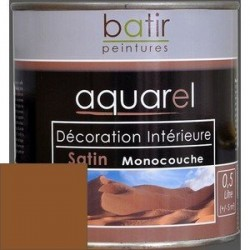 ACRYLIQUE DECORATION INT SATIN 0,5 L CHOCOLAT AQUAREL
