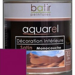 ACRYLIQUE DECORATION INT SATIN 0,5 L PIVOINE AQUAREL