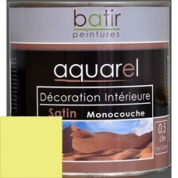 ACRYLIQUE DECORATION INT SATIN 0,5 L VANILLE AQUAREL