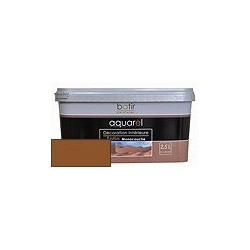 ACRYLIQUE DECORATION INT SATIN 2,5 L CHOCOLAT AQUAREL