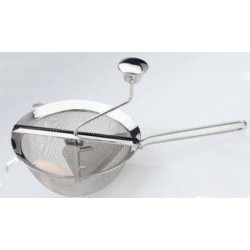 MOULIN COULIS/CONFITURE INOX 22X39X21