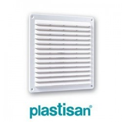 GRILLE CARREE 230X230 EP 15 BLANC 99535