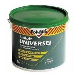 ENDUIT UNIVERSEL 2 EN 1 - 7 KG POLYFILLA